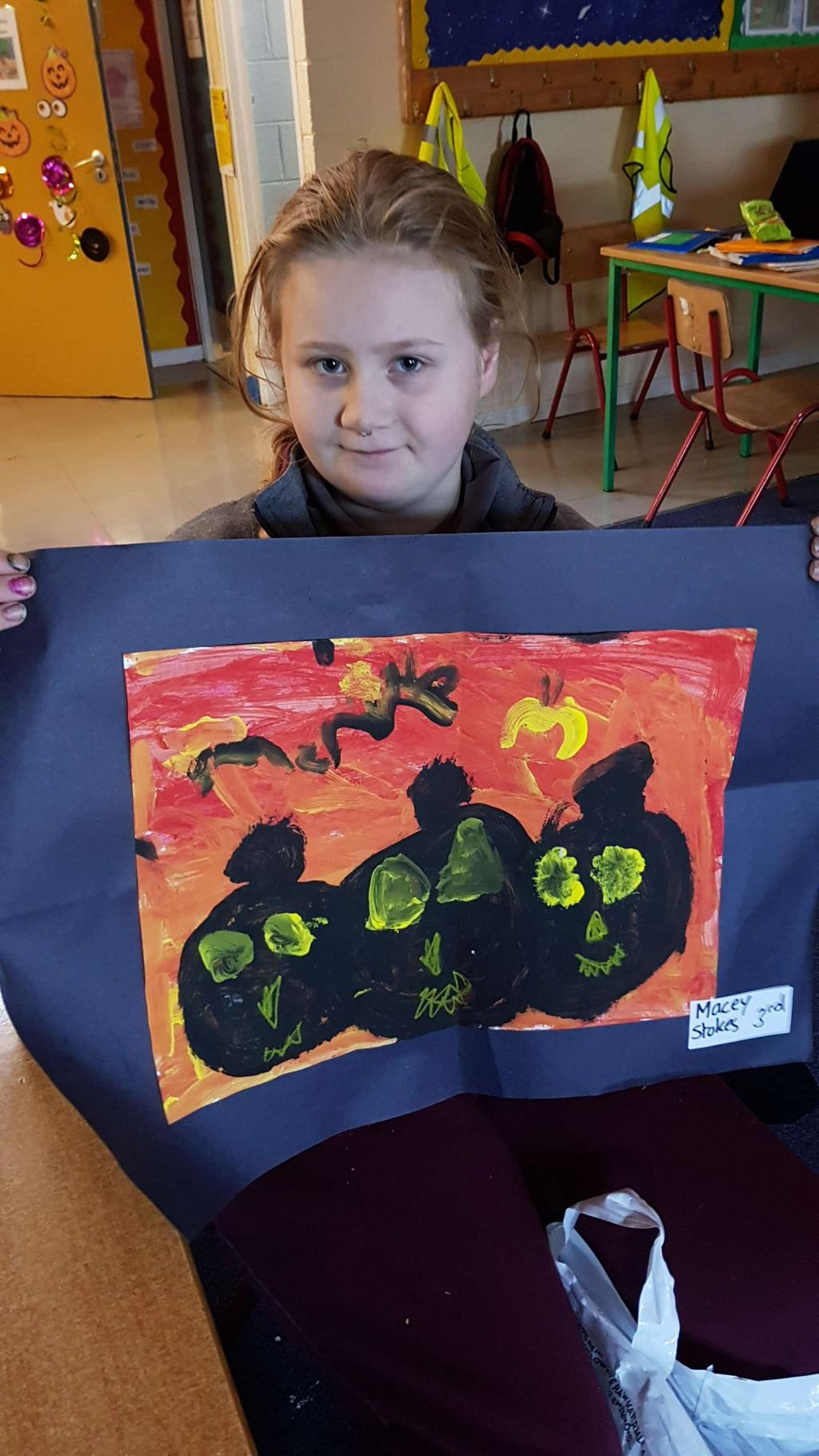 Halloween Art in MsMacRory's & Ms Murphy's room