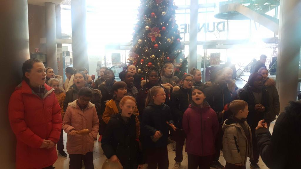 Carol Singing at Citywest Shopping Centre