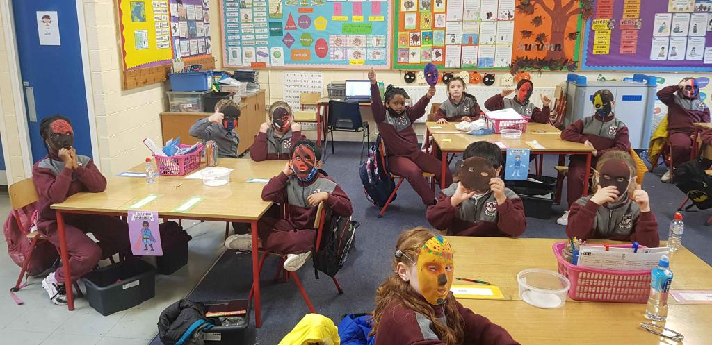 Room 17's Spooky Masks