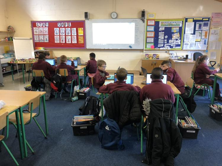 Digital Maths in Ms Kenny's 4th class