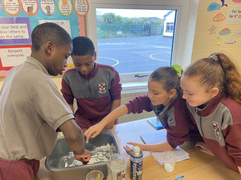 Science Week with Ms. Gallagher's 5th Class