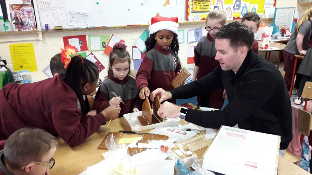 The gingerbread factory in Room 6