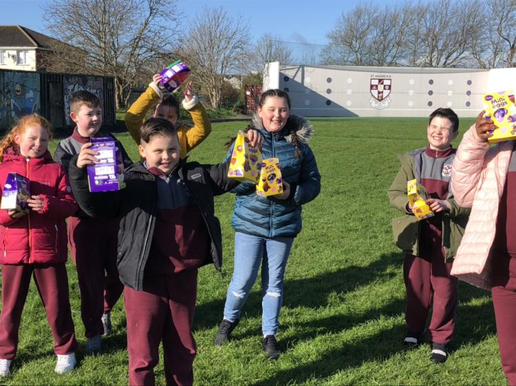 Egg Hunt in Ms Kenny's 4th Class