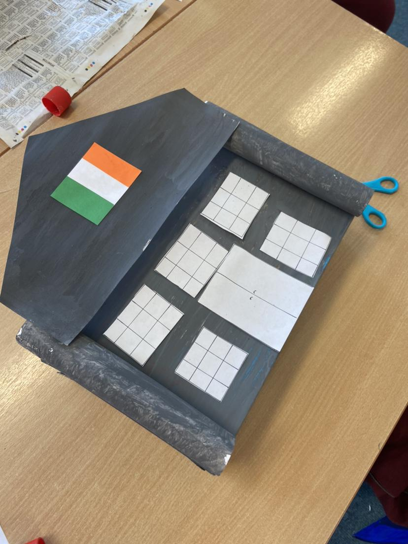 Miss Gallagher's 5th Class made replicas of the G.P.O.