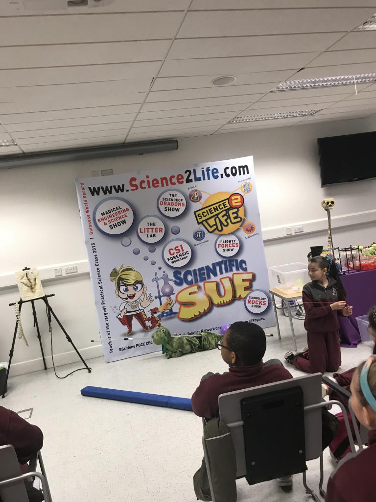 Science2life In Tallaght Library!