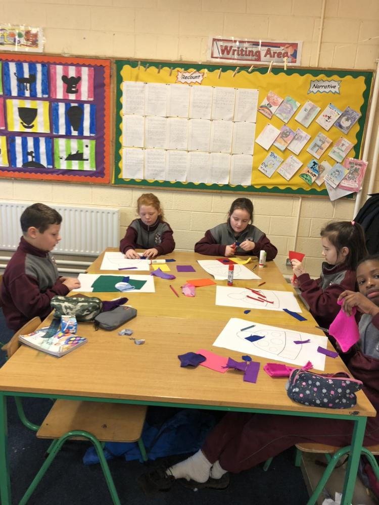 Woolly Winter Hats in Ms. Kenny's 4th class