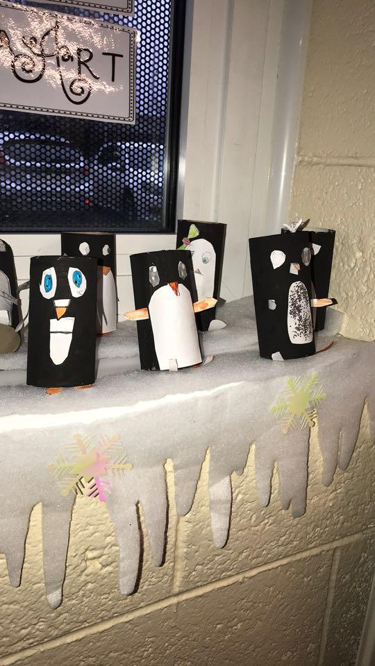 Busy Penguins in Room 7. From winter art, to science activities, to following procedures and having treats