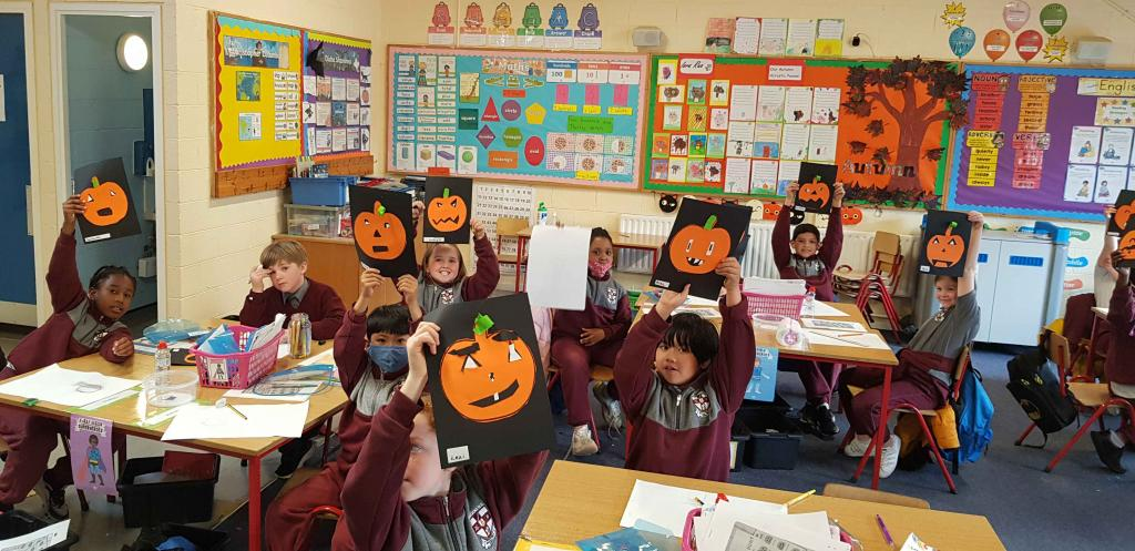 Halloween Art in Room 17