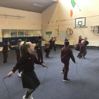 Skipping fun!