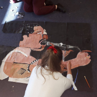 Freddie Mercury Jigsaw Art