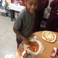 Pizza Day in 5th Class!